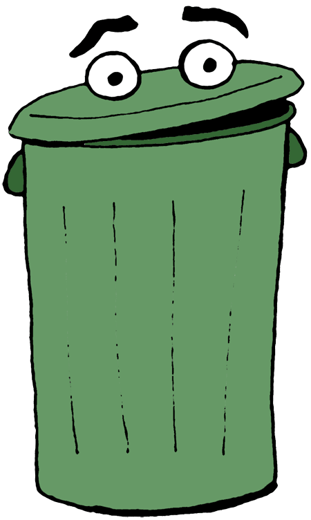 Trash Can Clip Art. Perfect World Clip Art Household