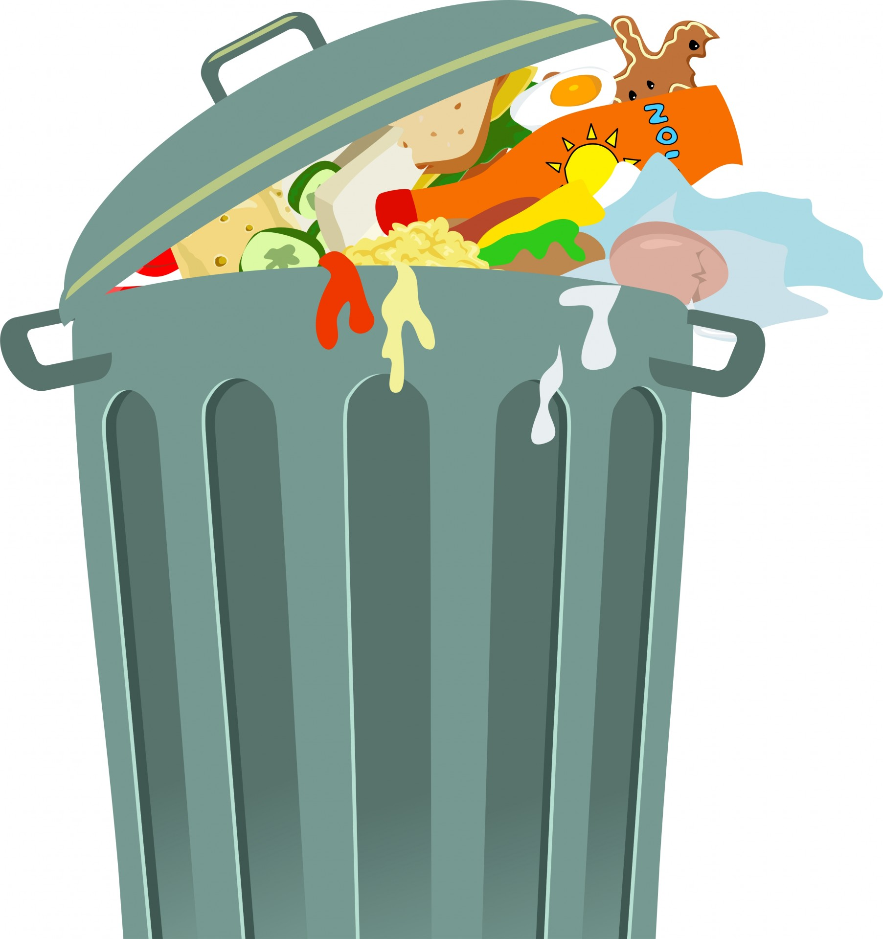 Trash Can Clip Art-Trash Can Clip Art-8