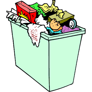 Trash Can Clipart Cliparts Of Trash Can Free Download Wmf Eps Emf