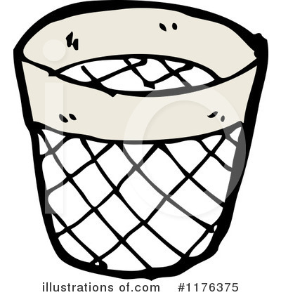 Royalty-Free (RF) Trash Can Clipart Illustration #1176375 by lineartestpilot