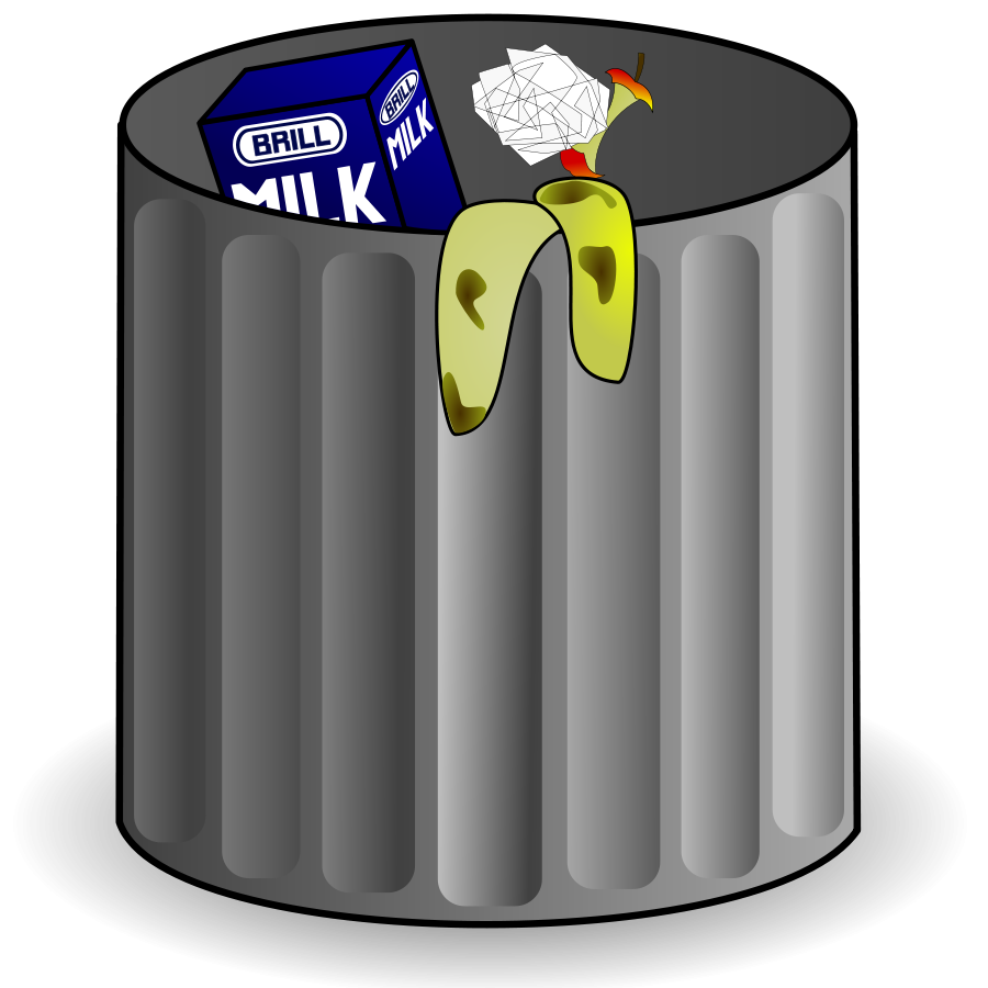Trash Can Clipart .-Trash can Clipart .-16