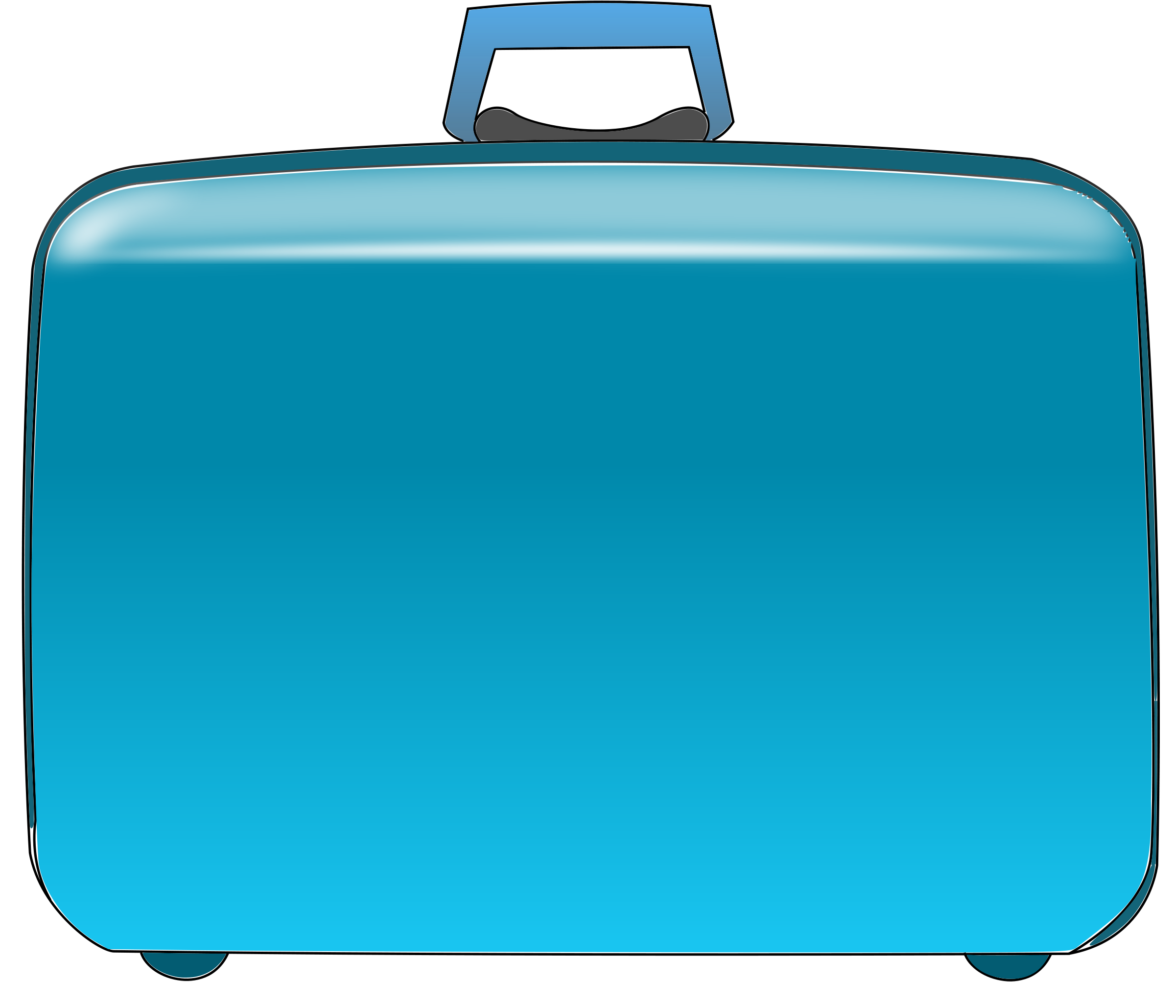 travel suitcase clip art - Clip Art Suitcase