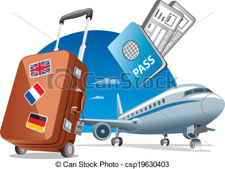 air travel - csp19630403 - Travel Clipart