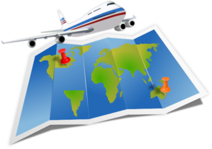 Airplane Travel Clip Art - Travel Clipart