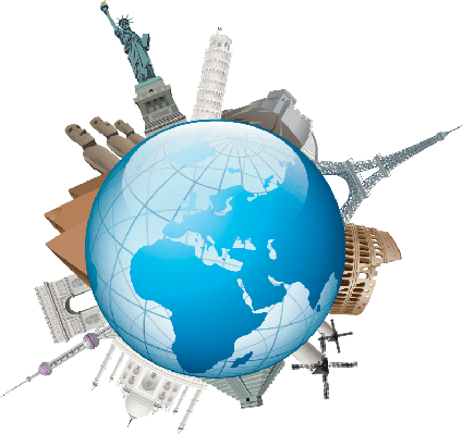 World Travel | Clipart - Travel Clipart