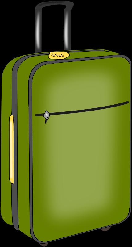 Travel Suitcase Clip Art Clip - Clip Art Suitcase