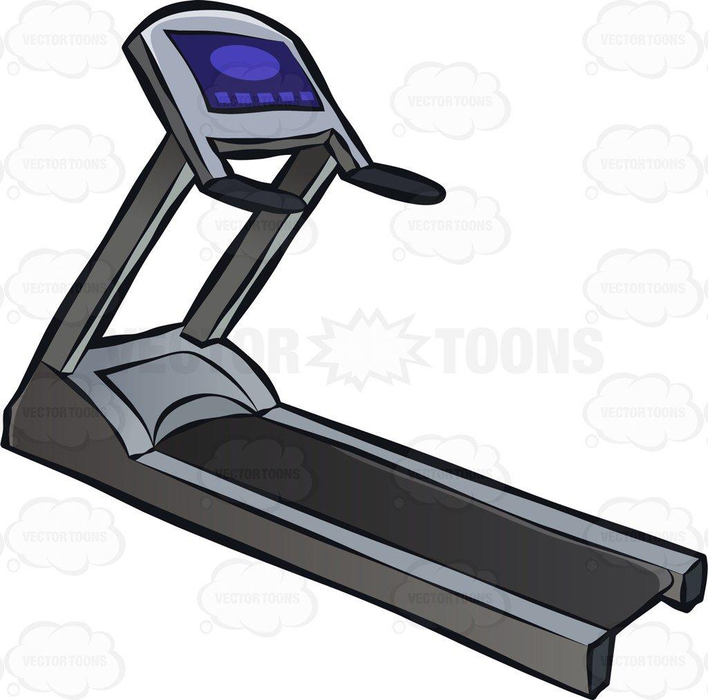 A gym treadmill-A gym treadmill-3