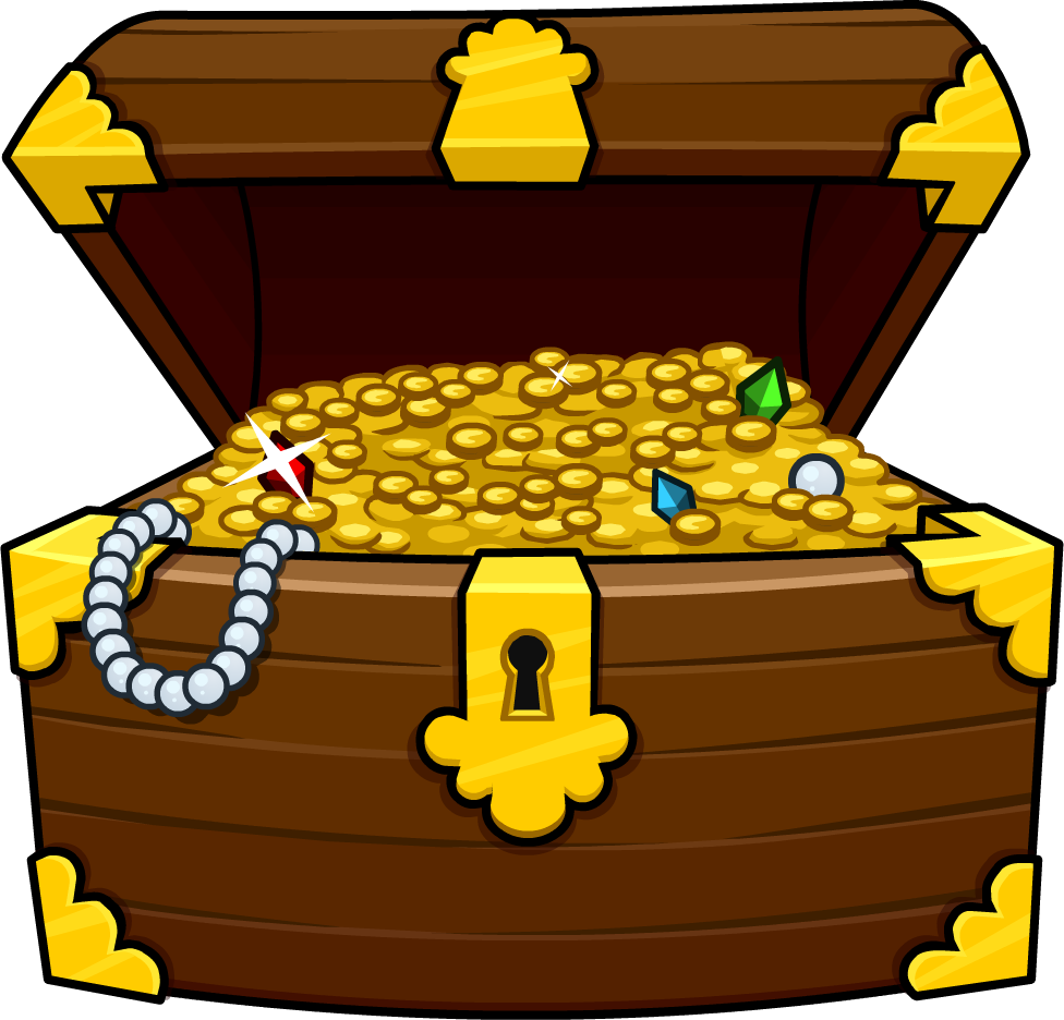 Treasure Box Free Clipart