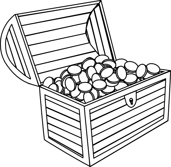 Treasure Chest Clip Art At Clker Com Vec-Treasure Chest Clip Art At Clker Com Vector Clip Art Online Royalty-16