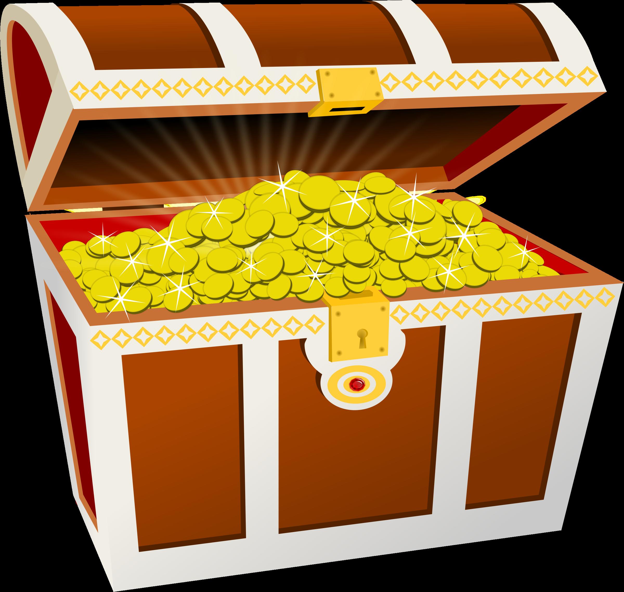 Treasure Chest Clip Art Image ... BIG IM-Treasure Chest Clip Art Image ... BIG IMAGE (PNG)-10