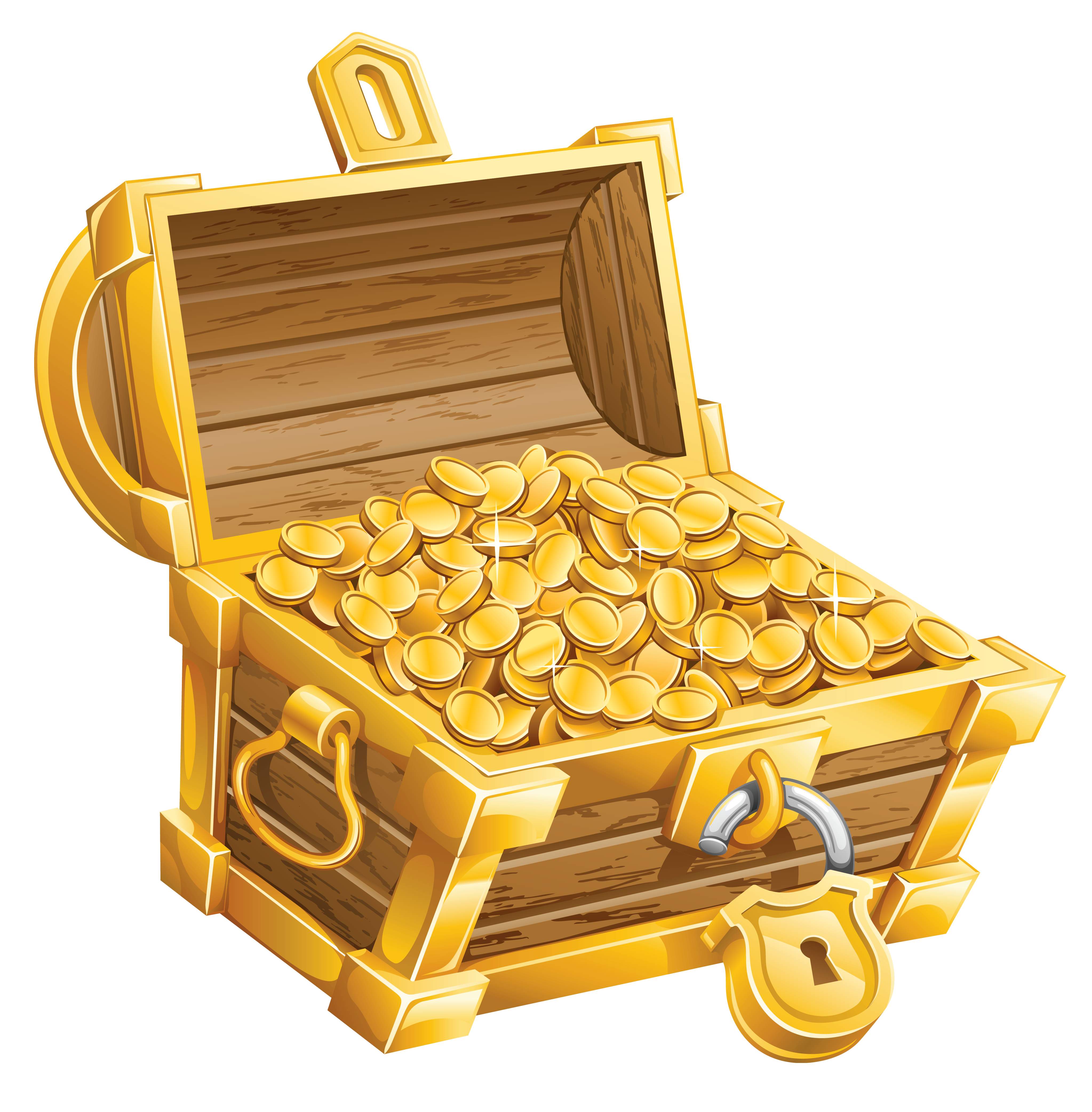 Treasure Chest Clip Art-Treasure Chest Clip Art-17