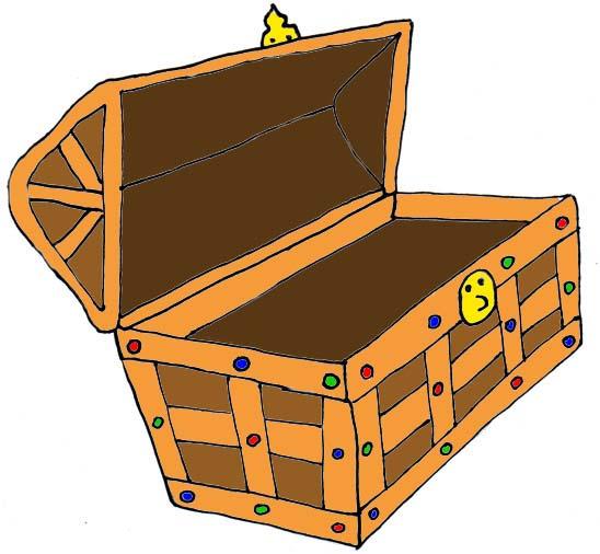 Treasure Chest Clip Art-Treasure Chest Clip Art-3