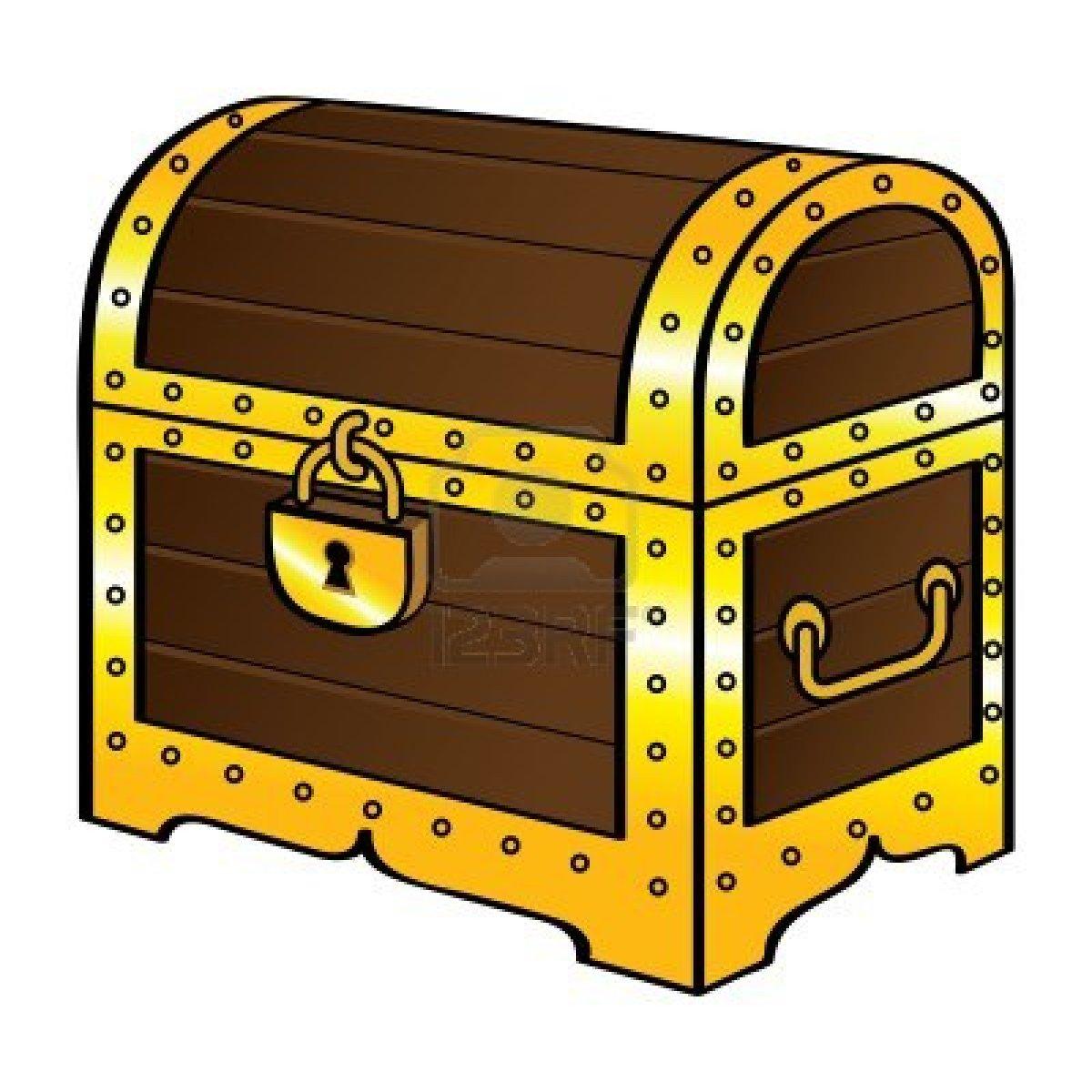 Treasure chest clip art vector .-Treasure chest clip art vector .-7