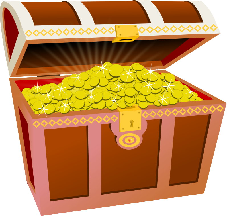 Treasure Chest Clipart-Treasure Chest Clipart-2