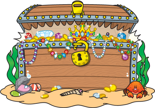 Treasure chest image clipart