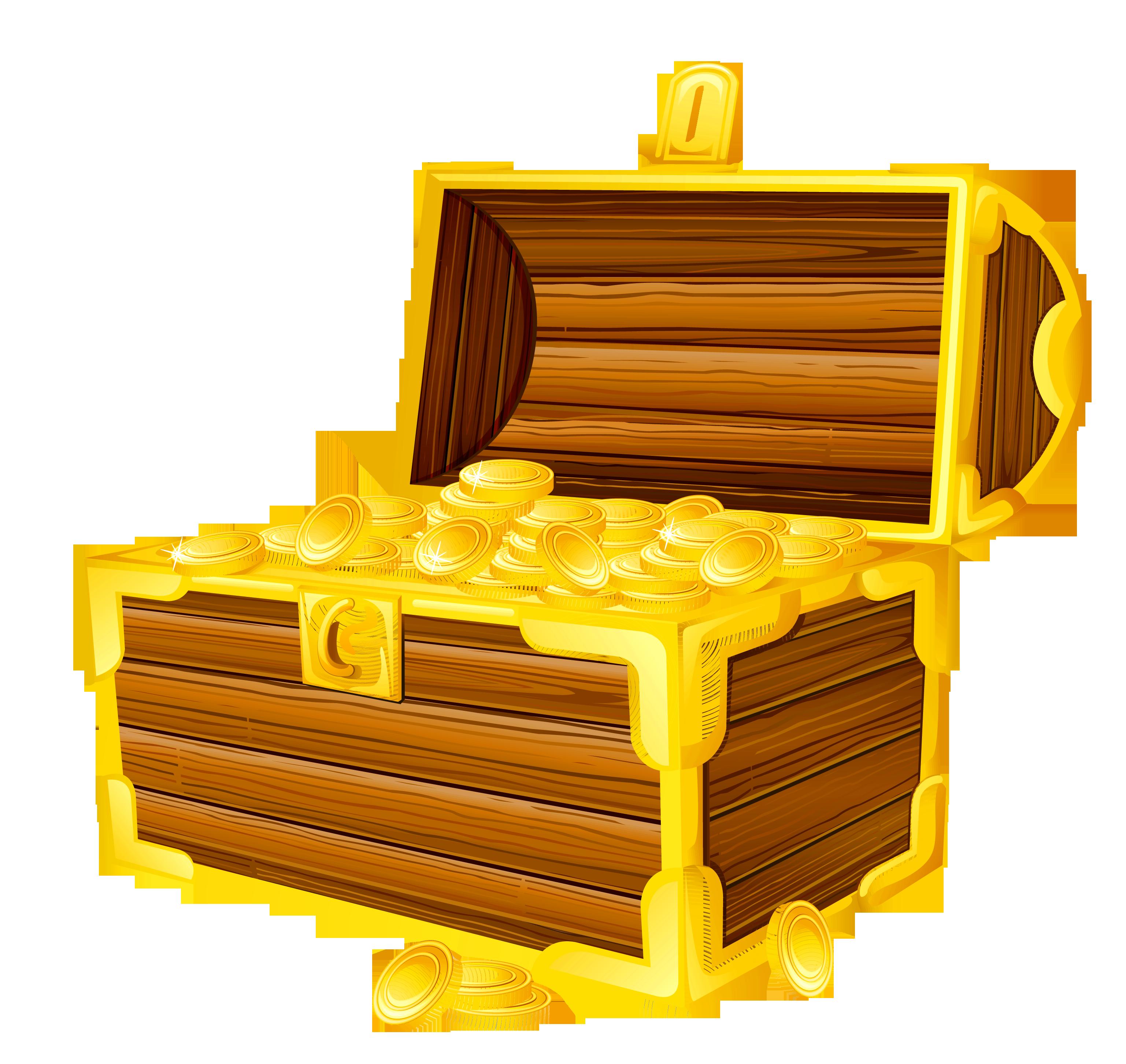 Treasure chest picture cliparts. Treasure chest image clipart