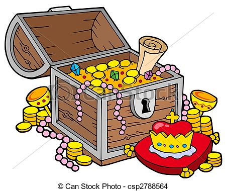 Big treasure chest - csp2788564