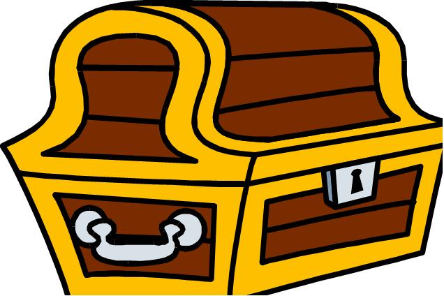 Chest clipart: Clip art treasure chest