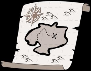 Treasure Map Clip Art At Vector Clip Art Online