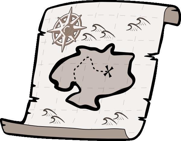 Treasure Map Clipart Black And White Tre-Treasure Map Clipart Black And White Treasure Map Hi Png-14