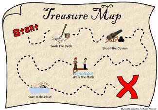 Treasure Map Png