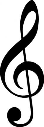 ... Treble Clef; G Clef Clip Art ...-... Treble Clef; G clef clip art ...-11