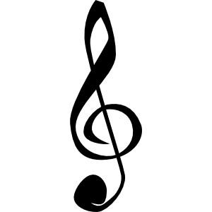 Treble Clefs Music Symbol cli - Music Symbols Clip Art