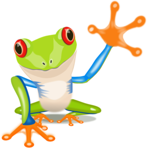 tree frog clipart