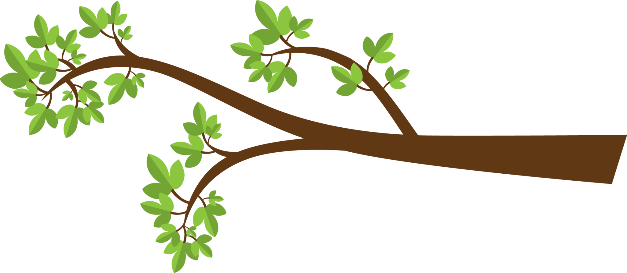 Tree Branches Clip Art. Tree Branch With-Tree Branches Clip Art. Tree Branch With Leaves .-17