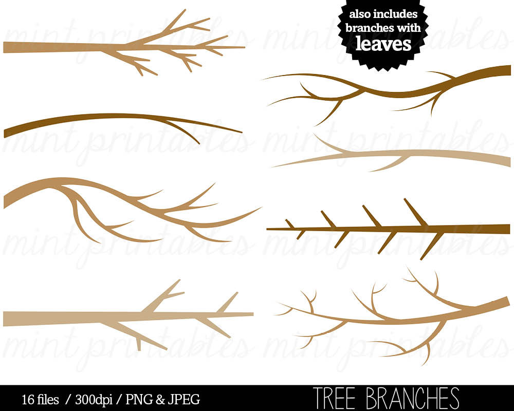 ... Tree Branches, Tree Clipart, Trees,.-... Tree Branches, Tree Clipart, Trees,. -17