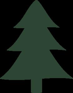 Tree Clip Art Snowy Pine Clipart
