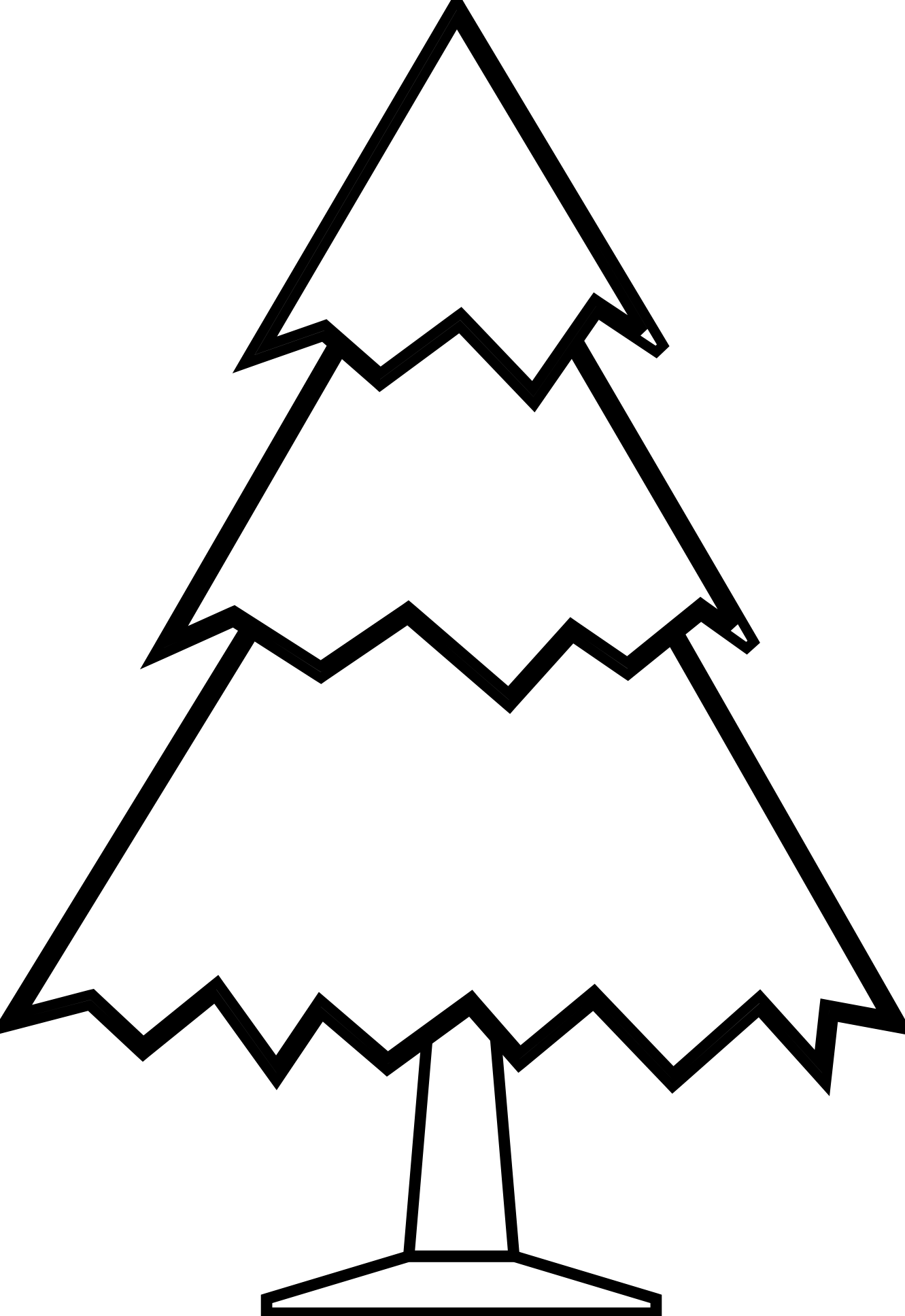 Tree Clipart Black And White .-Tree Clipart Black And White .-14