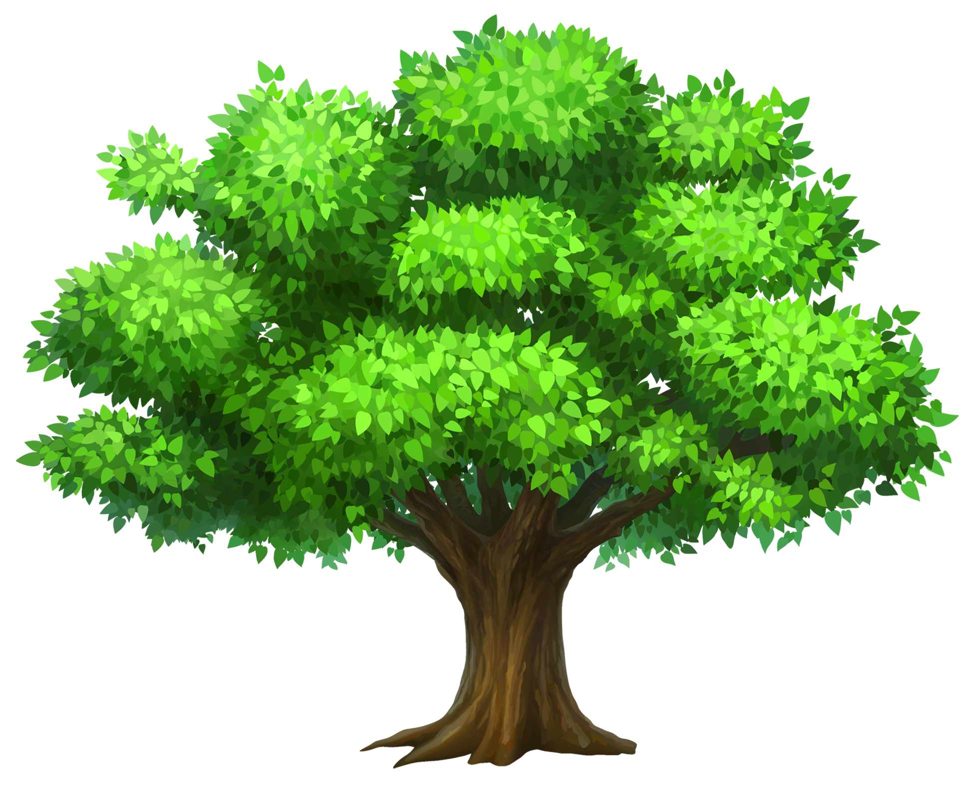 Free Oak Tree Clipart of Oak tree tree clipart clipart image for your  personal projects, presentations or web designs.