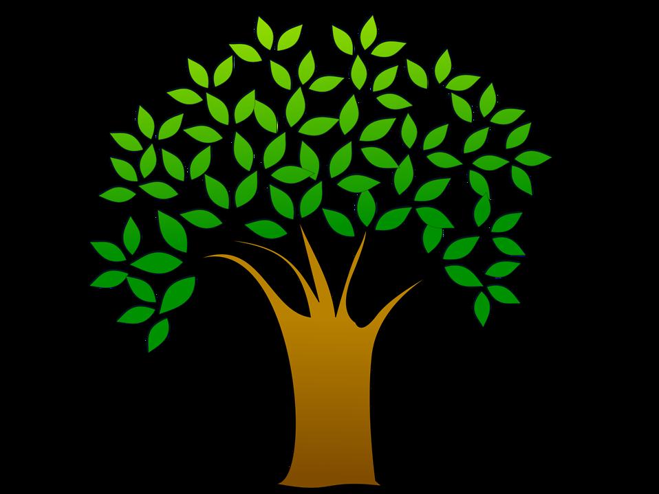 Tree Clipart Free Stock Photo Illustrati-Tree Clipart Free Stock Photo Illustration Of A Tree With Leaves-17