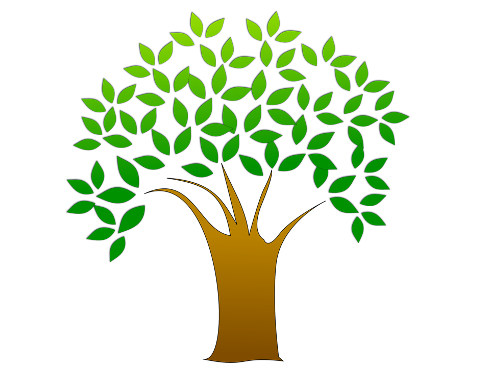 Giving Tree Clipart Image