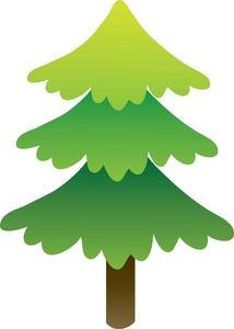Tree clipart image pine tree