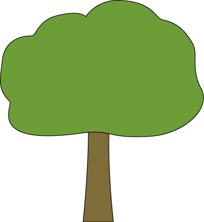 Oak Tree with Black Outline-Oak Tree with Black Outline-3