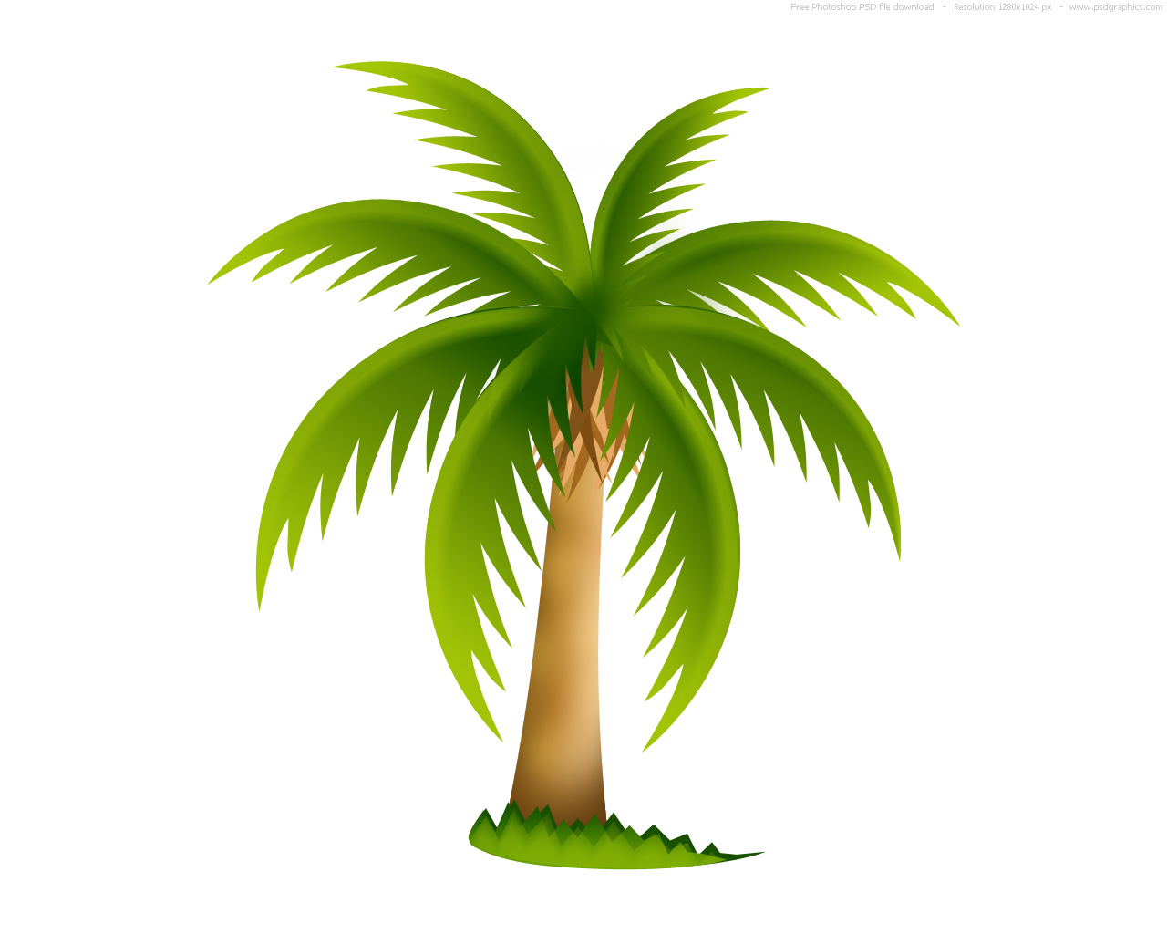 Tree Clipart | Palm Tree image - vector clip art online, royalty free u0026amp; public