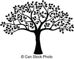 Tree Clipartby Derocz3/209; Tree Silhoue-Tree Clipartby derocz3/209; Tree silhouette - vector illustration of Tree silhouette-12