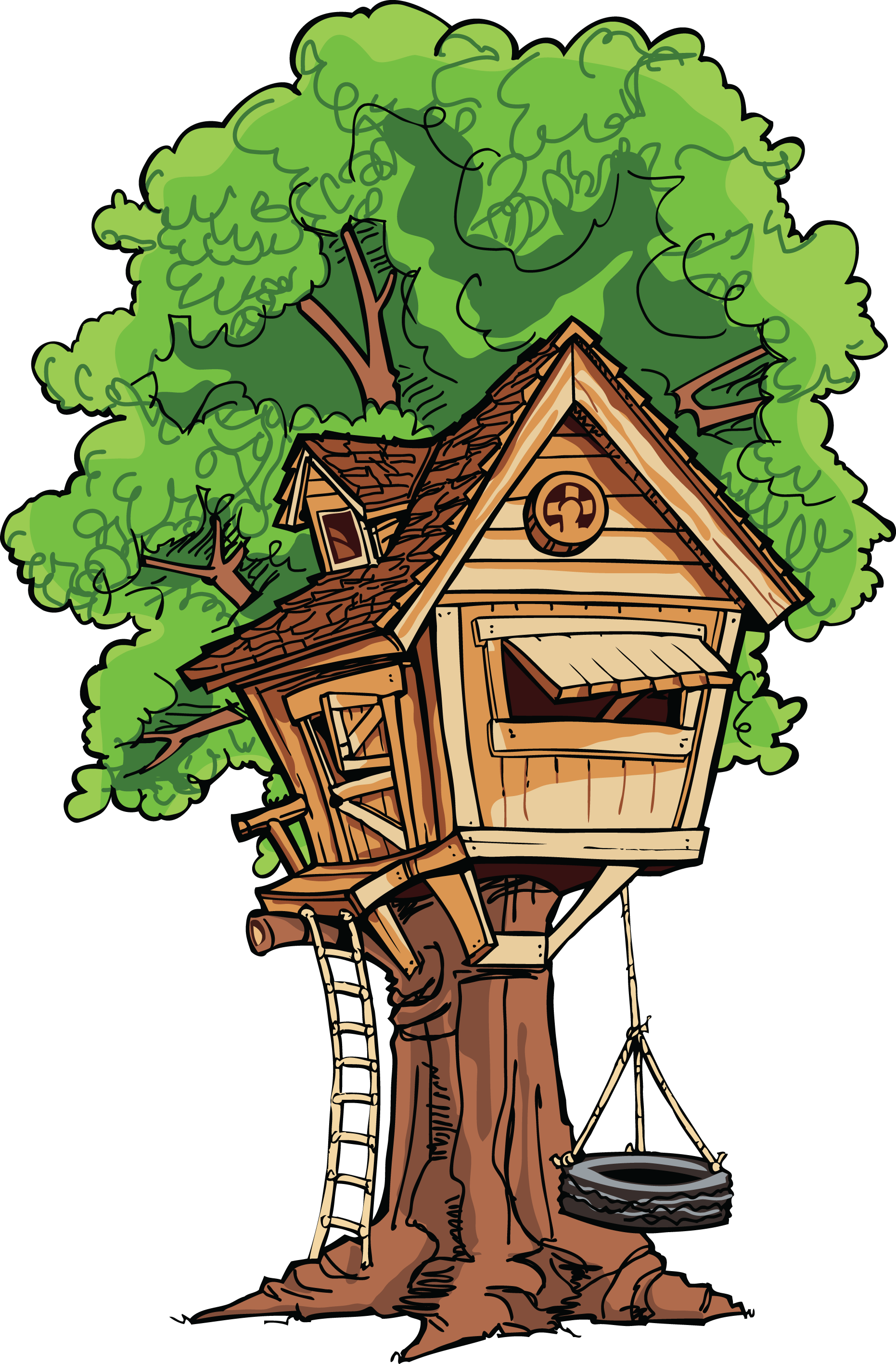 Tree House Clip Art. 2016/03/ - Tree House Clip Art