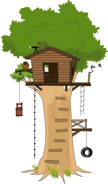 tree house clipart | Tree House clip art-tree house clipart | Tree House clip art - vector clip art online, royalty free u0026amp; public ... | GFTA-2/SPAT-D II supplemental word pics | Pinterest | Trees, ...-7