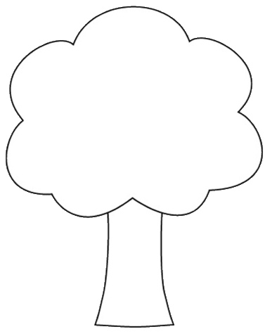 Tree Shape Clipart To Color 12cm Flickr -Tree Shape Clipart To Color 12cm Flickr Photo Sharing-3