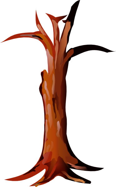 Tree Trunk Clip Art At Clker Com Vector Clip Art Online Royalty