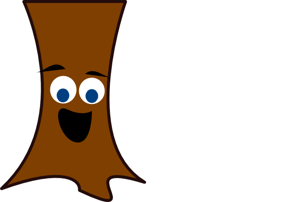 Tree Trunk Face Clip Art At Clker Com Vector Clip Art Online