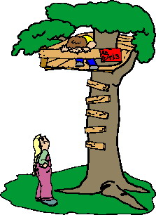 Treehouse clip art - Tree House Clip Art
