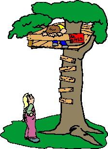 Treehouse clip art-Treehouse clip art-13