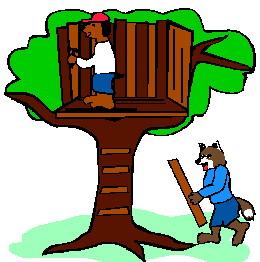 Treehouse clip art-Treehouse clip art-12