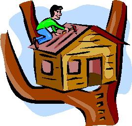 Treehouse clip art-Treehouse clip art-17