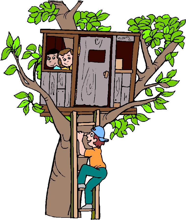 Treehouse clip art-Treehouse clip art-6