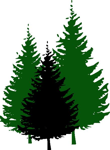 Trees Clip Art Vector Clip Art Online Royalty Free Public Domain